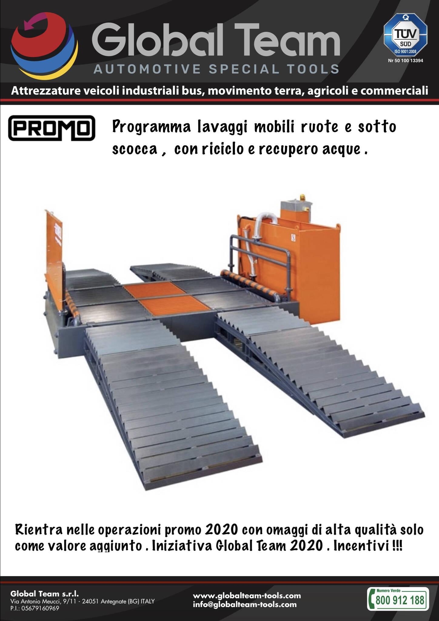 Programma lavaggio mobile per ruote e sotto scocca mezzi veicoli industriali . Ideati anche a richiesta ma gia' lo standard perfetto.