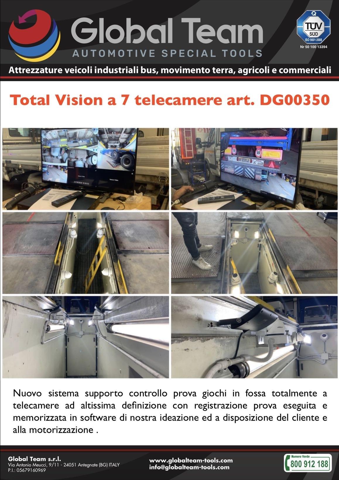 Sistema a multi telecamere per la visualizzazione prova con prova giochi e la sua archiviazione in modalità elettronica utile per contestazioni e registrazioni utilizzabili per la motorizzazione .