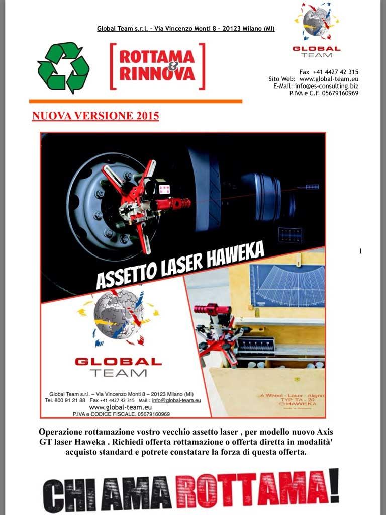 Promozione nuovo assetto laser Haweka standard, mai stato cosi' conveniente. Provate a richiedere info.