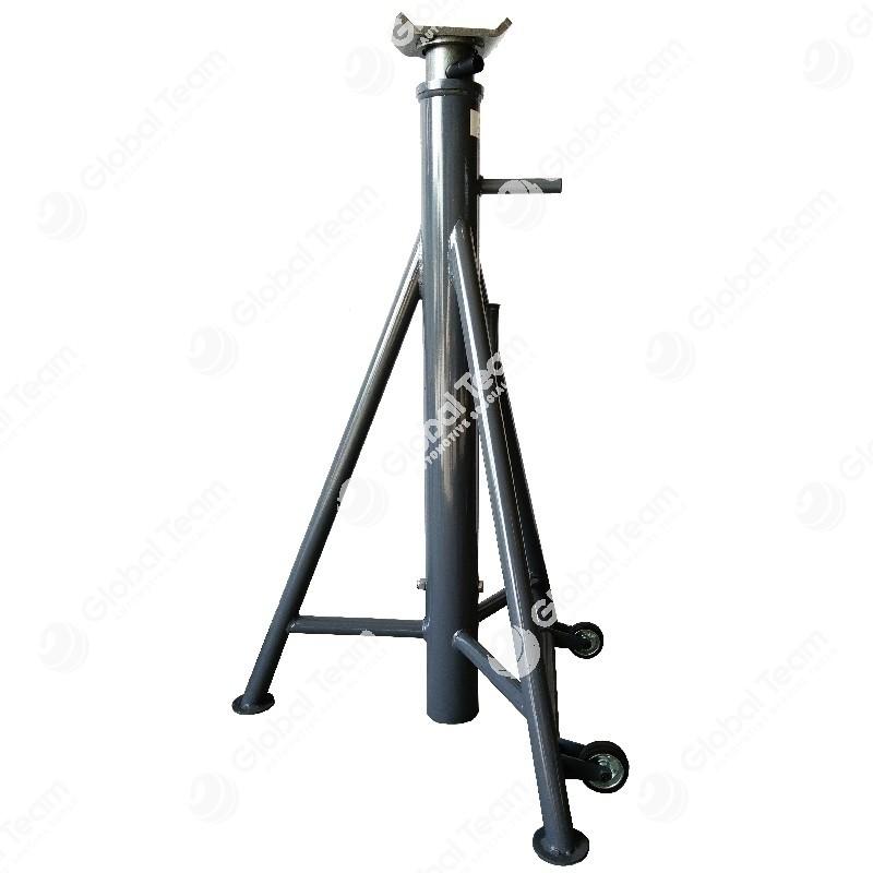 Cavalletto alto 1230 mm - 1820 mm 10 ton