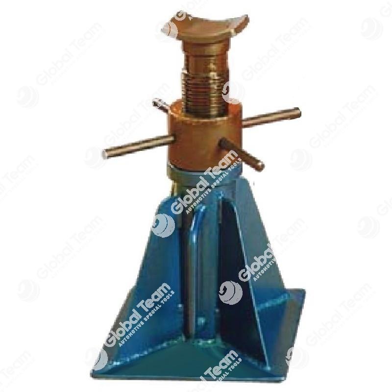 Cavalletto con reggispinta medio 680 mm chiuso - 1170 mm aperto 15 ton