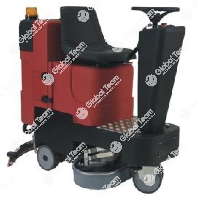 Lava asciuga pavimenti - elettrica a batterie - uomo a bordo - 3000 mq/h