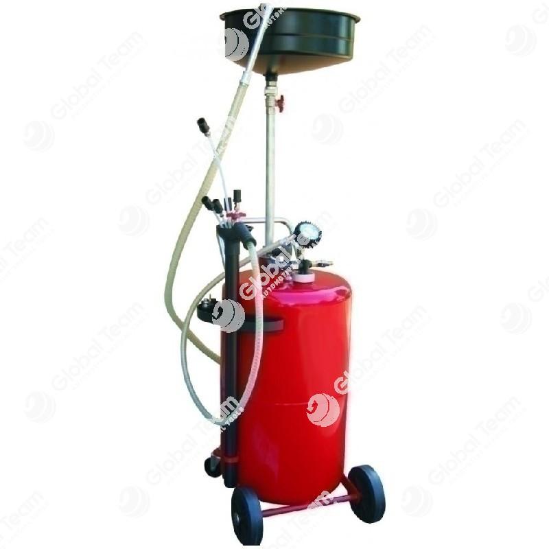 Serbatoio aspiratore e recuperatore olio esausto