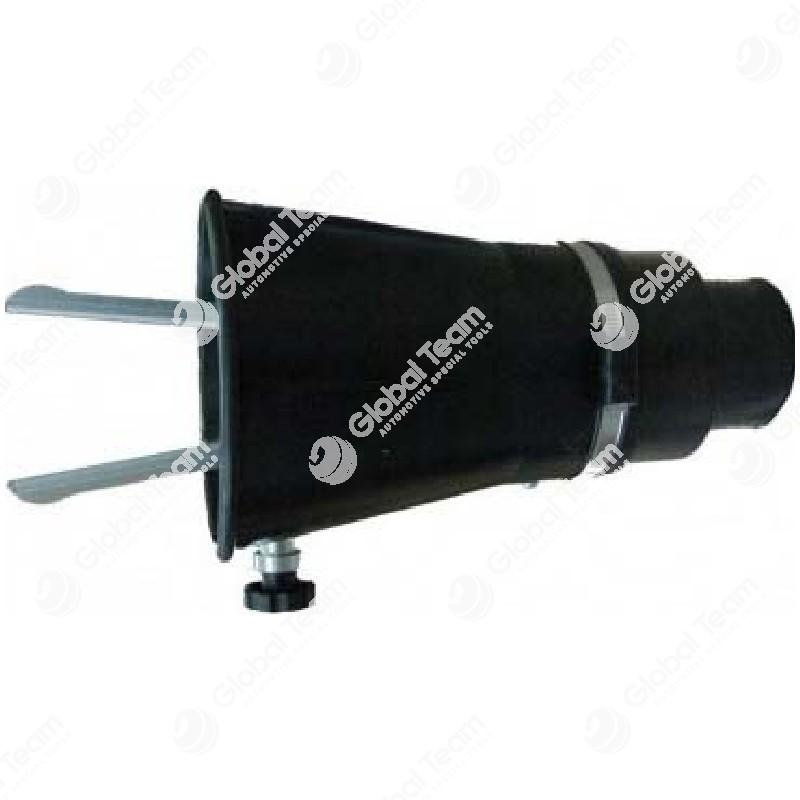 Bocchetta conica in gomma per scarichi integrati veicoli industriali