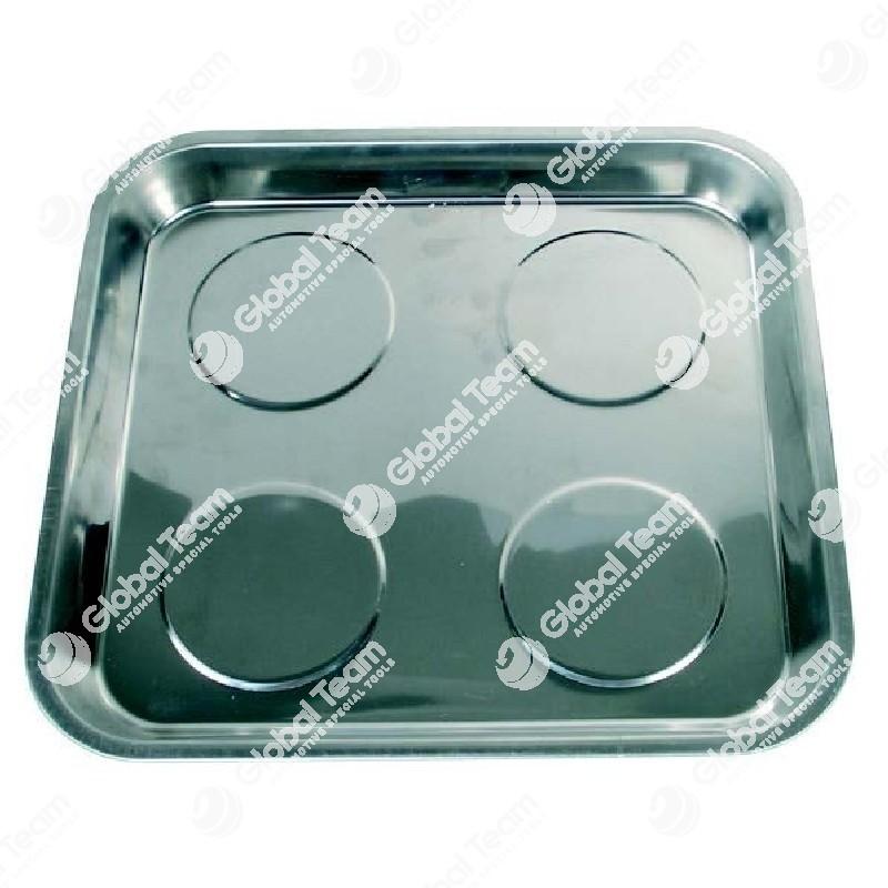 Vaschetta magnetica inox quadrata