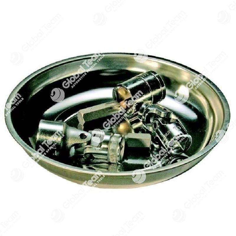 Vaschetta magnetica inox tonda