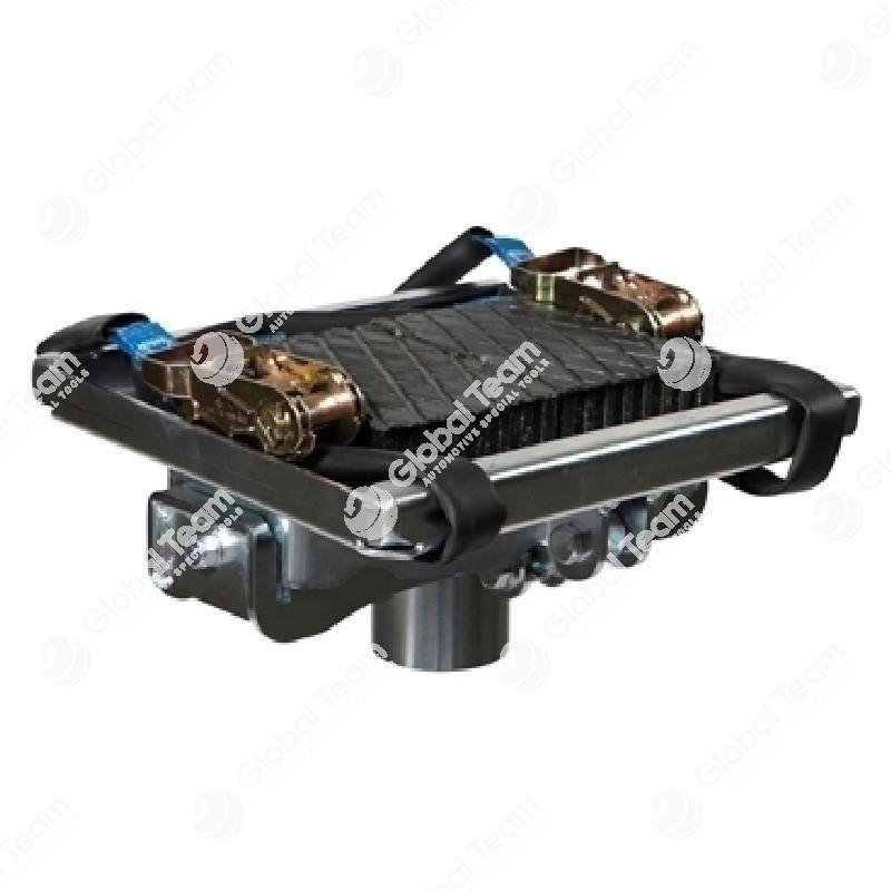 Staffa universale per cambi veicoli commerciali inclinabile 10° in tutte le direzioni(con tamponi magnetici) - AC Hydraulic