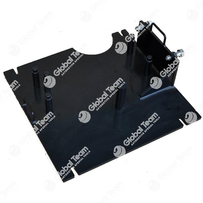Supporto per cambi ZF S2030 IVECO Stralis e altri (da usare con banco rotazione cambi CB08500 o banco monocolonna rotazione motori MT04000)