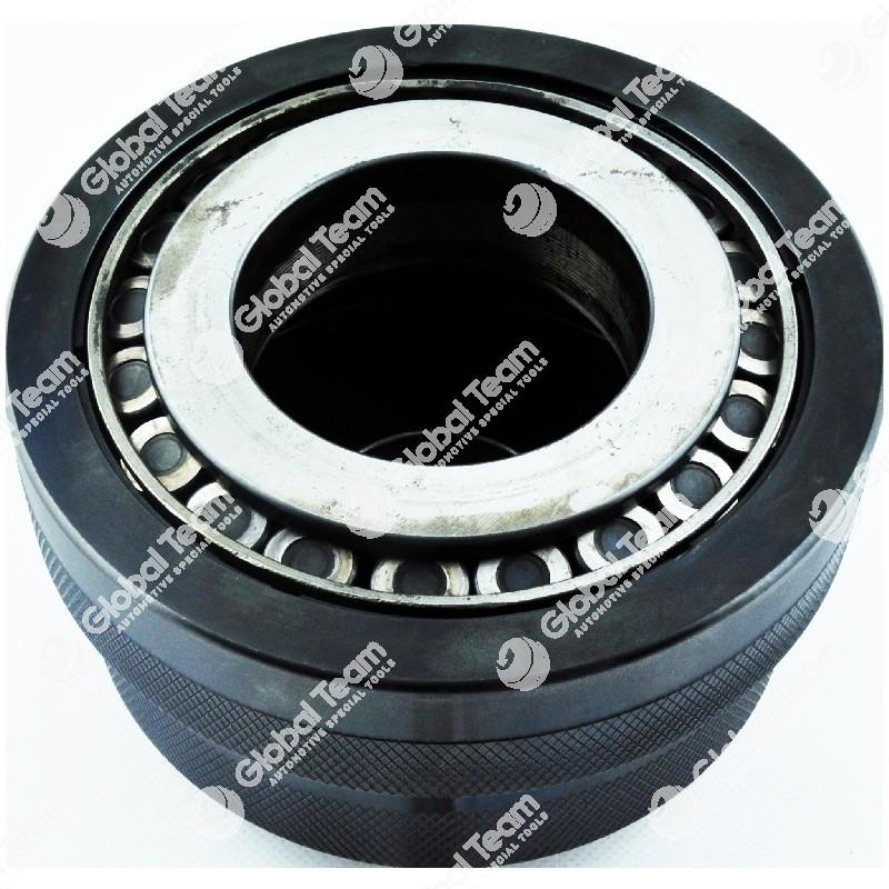 Appiglio Rollex (RLX11M) per cuscinetti conici cambi ZF - MAN (con appigli prolungati) - Attacco diam. 64mm - Chiuso 90,5mm - Aperto 94mm