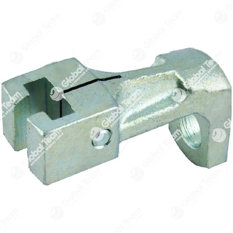 Appiglio singolo forato (16) - Altezza    55mm - Diam.foro 16mm