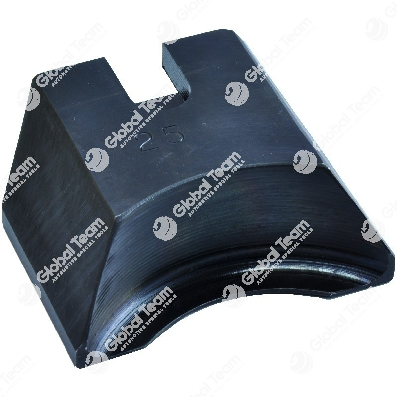 Zampetta singola (25XL) - Spessore 3 mm - Profondita' 8 mm - larghezza maggiorata 80 mm