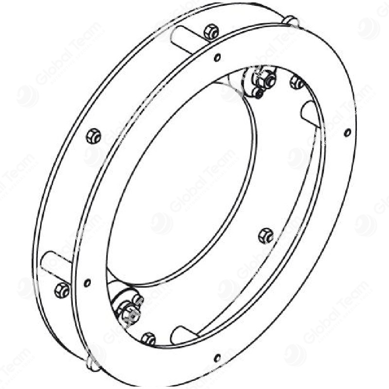 Adattatore per frizioni MERCEDES con alloggiamento in metallo pressofuso (necessario per motori MB A0072501404 - MB A0072505204) da usare con art. CB08601 - Blitz