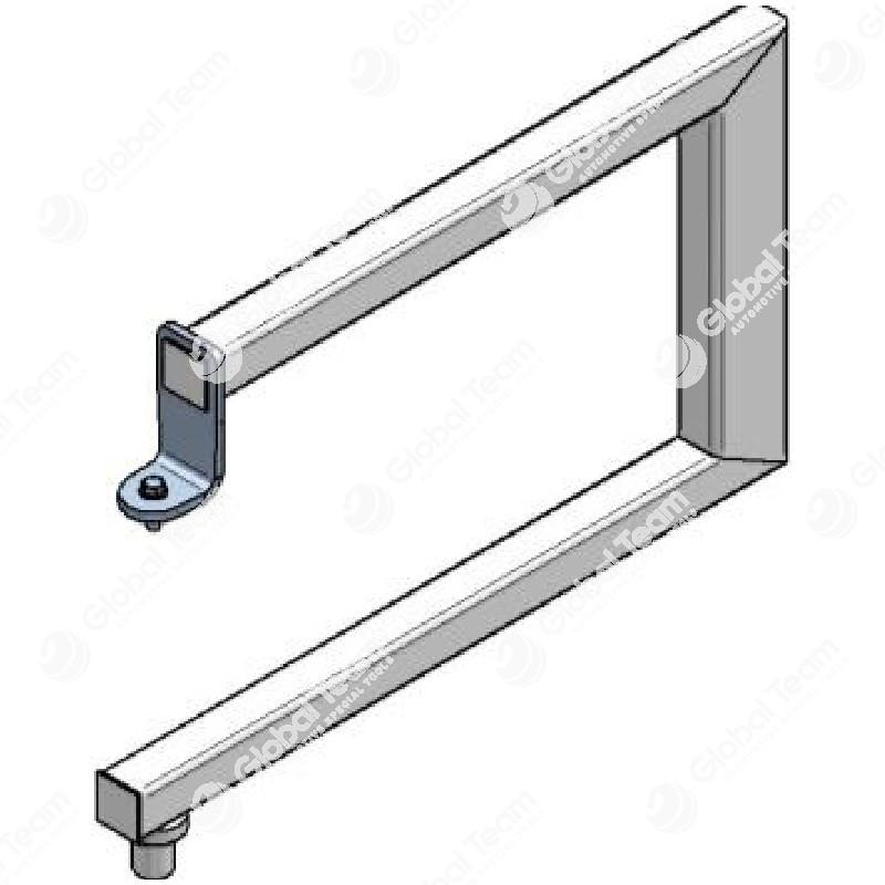 Adattatore a ''C'' per smontaggio e rimontaggio frizioni e volani con spazio in movimento limitato dalle traverse (da usare con CB08601) - Blitz
