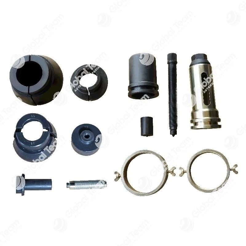 Kit attrezzi per la rimozione ed introduzione cuscinetti differenziale anteriore e posteriore VOLVO (FM12) (EV90/EV91)