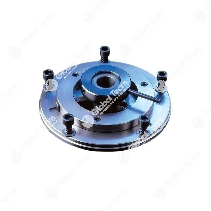 Flangia autocentrante per tamburi 10 fori (specificare diam.albero tornio)