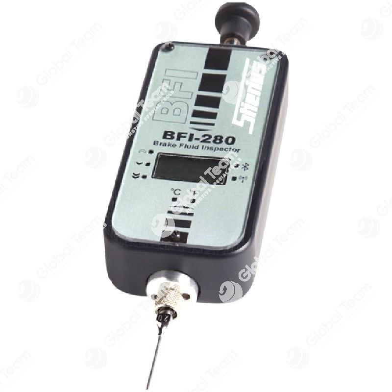 Tester diagnostico per il rilevamento della temperatura e usura liquido freni - corredato di software per il collegamento Bluetooth al PC