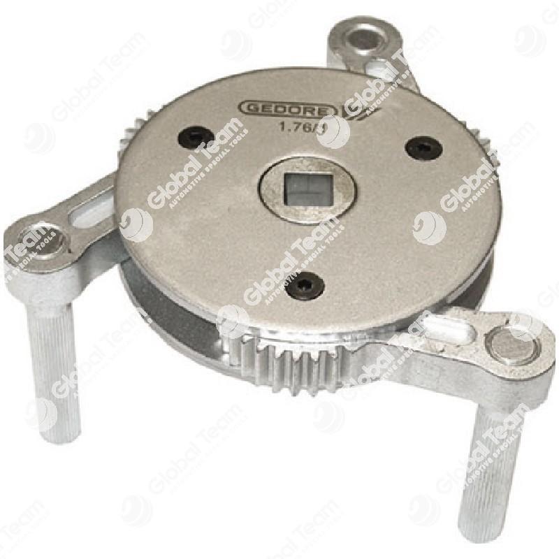 Chiave frontale per filtri olio, gasolio ed essiccatori - 95-165 mm - GEDORE