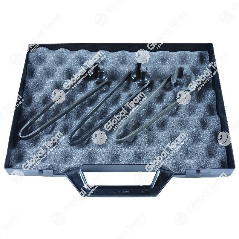 Kit in valigetta di 3 pinze per stacco tubi da raccordi VOSS pescanti serbatoi gasolio - diam 10-12-16 mm