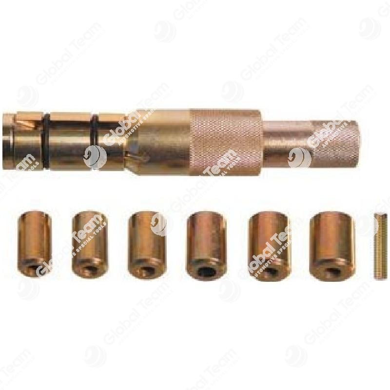 Centrafrizioni singolo Klann per veicoli commerciali diam.24-36mm comprensivo di kit 6 puntali