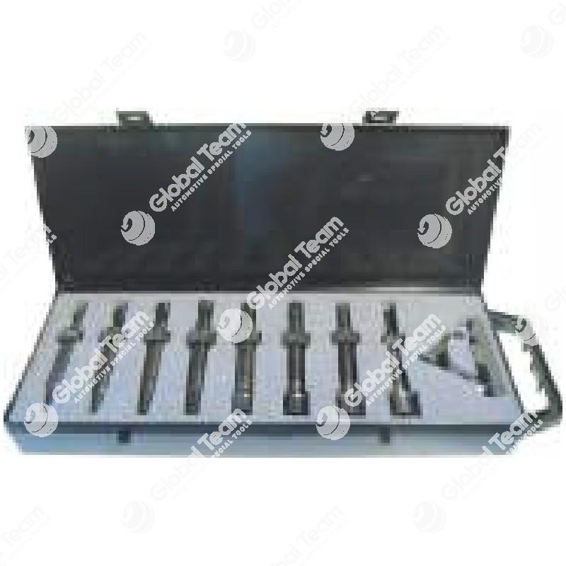 Cassetta estrattori per cuscinetto volano (con castelletto tirante) - misure pinze 10-12-15-17-20-25-27-30