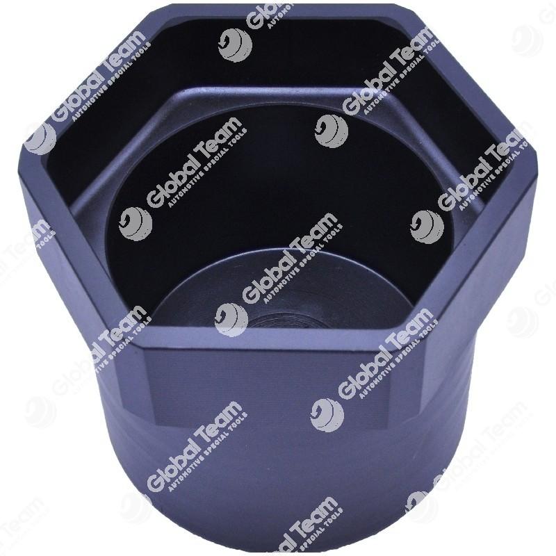 Bussola esagonale per mozzi posteriore DAF (freni a disco) - 105 mm