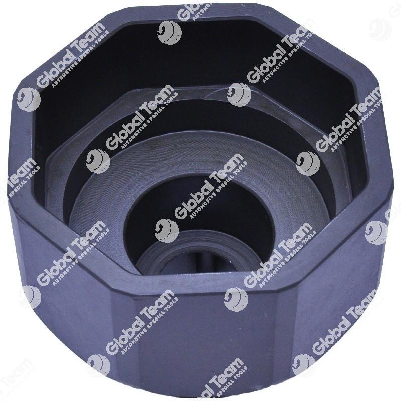 Bussola ottogonale per mozzi PERLINI (a disco) - 86 mm