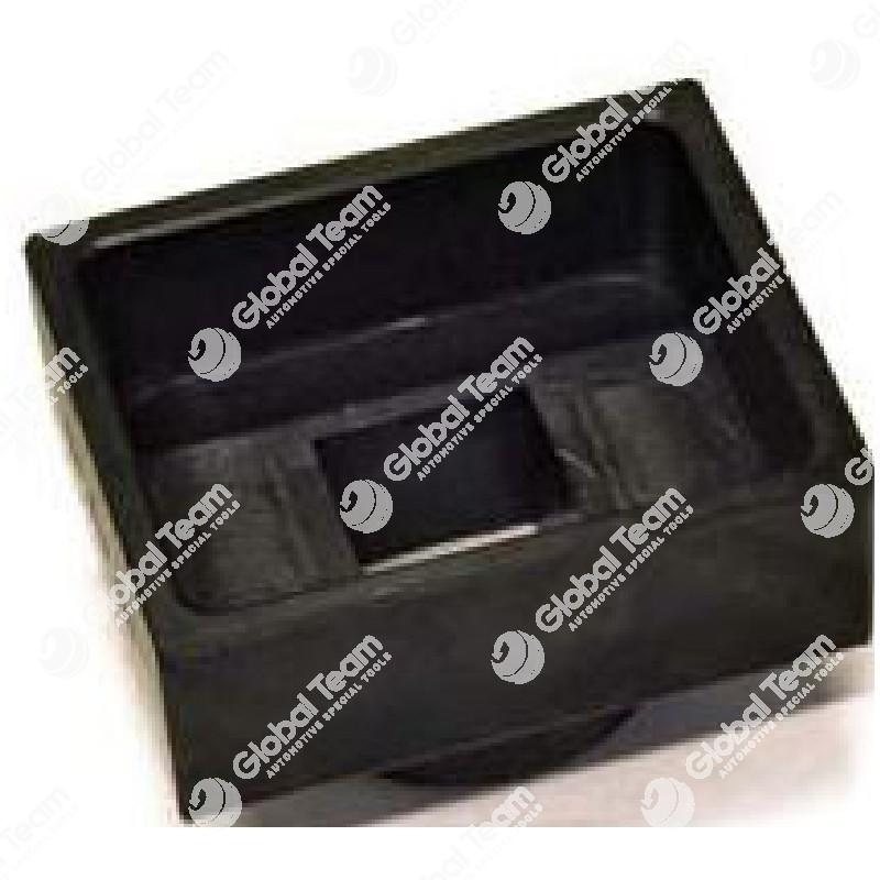 Chiave per dado rettangolare mozzi anteriori MAN - MERCEDES - 56X71 mm