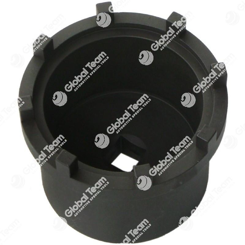 Chiave per ghiera mozzi posteriori SCANIA con riduttori - 8x103