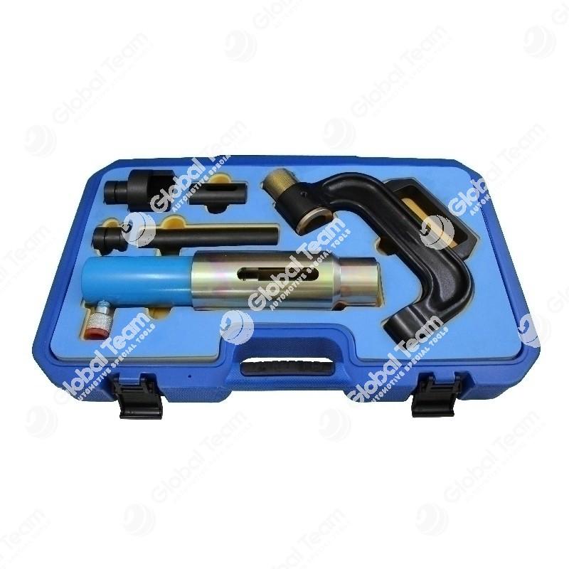 Estrattore e introduttore idraulico per colonnette mozzi (universale)