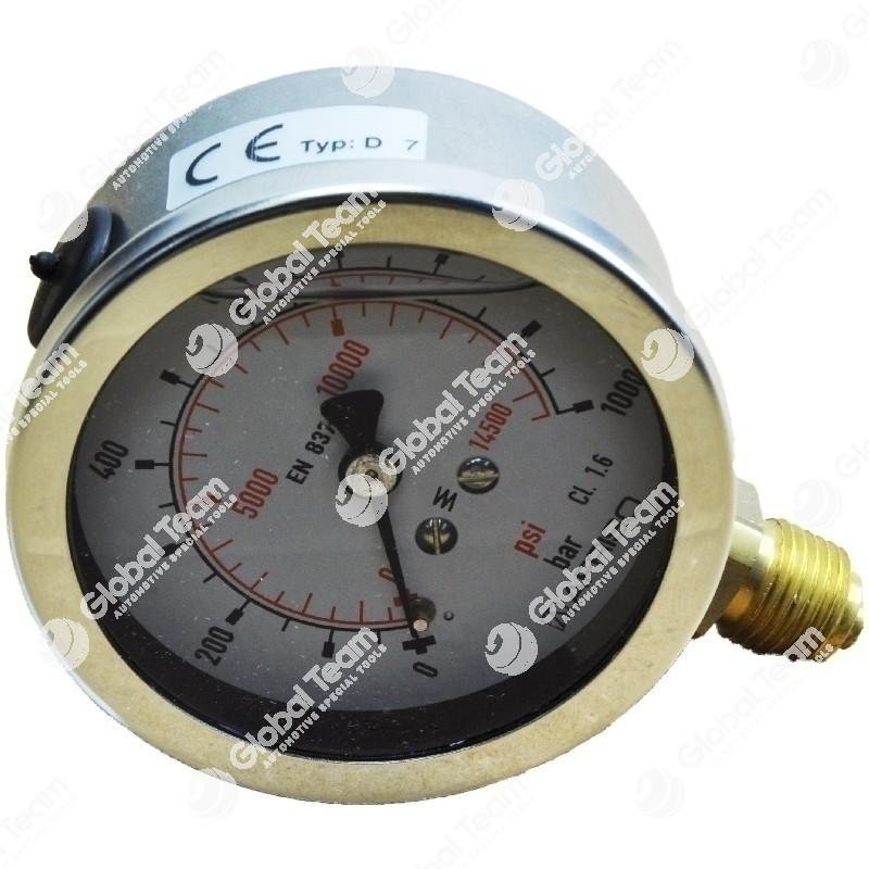 Manometro a bagno di glicerina (pressione idraulica)