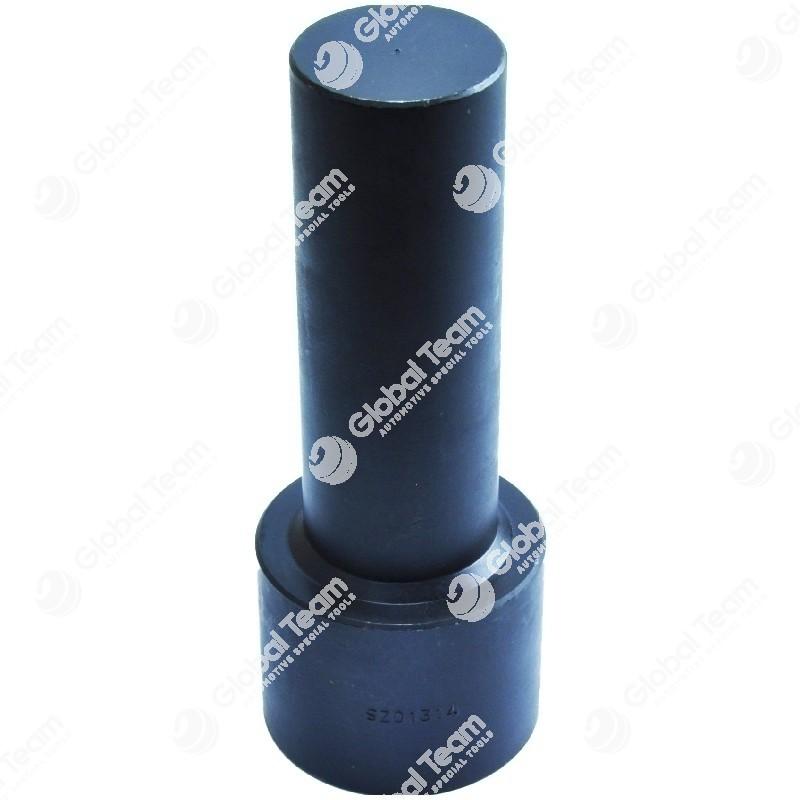Prolunga filettata - diam.40 mm - lunghezza 120 mm