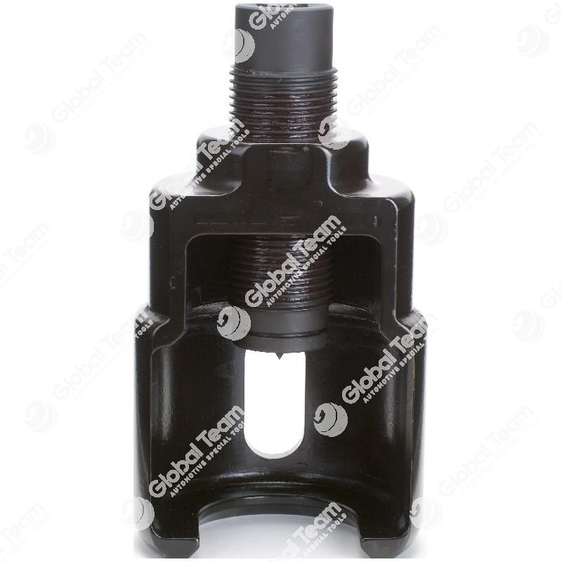 Estrattore leve idroguida VIBRO IMPACT aperto sul retro - 58 mm
