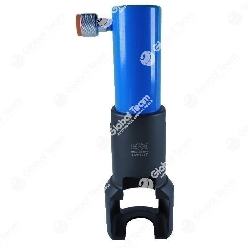 Estrattore testine sterzo con pistone idraulico - 39 mm