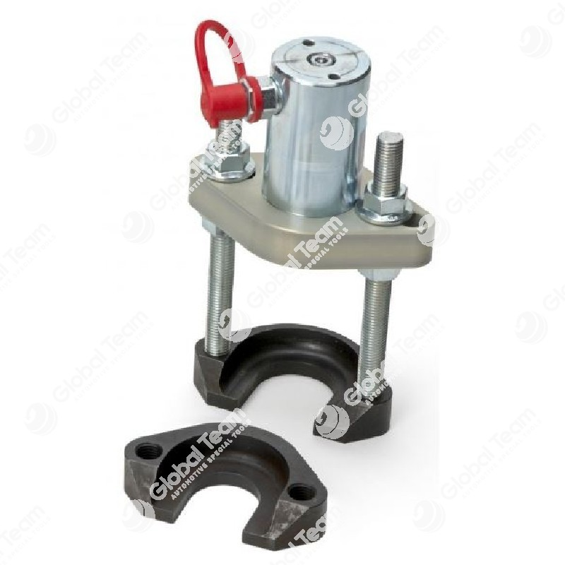 Estrattore testine universale con cilindro idraulico in alluminio - dotato di forche fa 40-50-70 mm