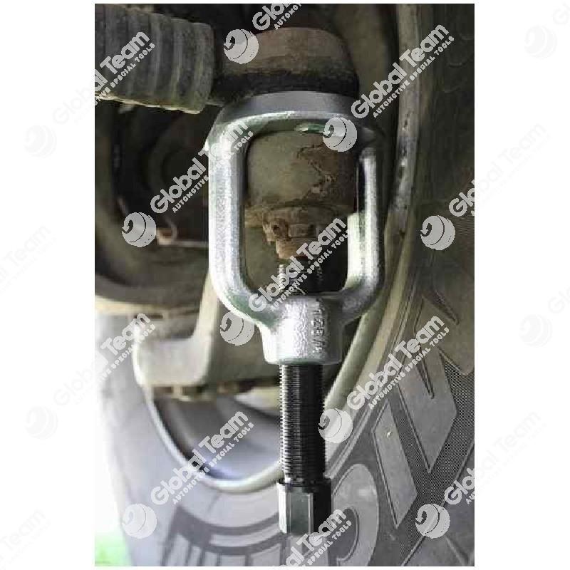 Estrattore testine sterzo KUKKO autocarri (perno di ricambio art. SZ01909) - 44 mm