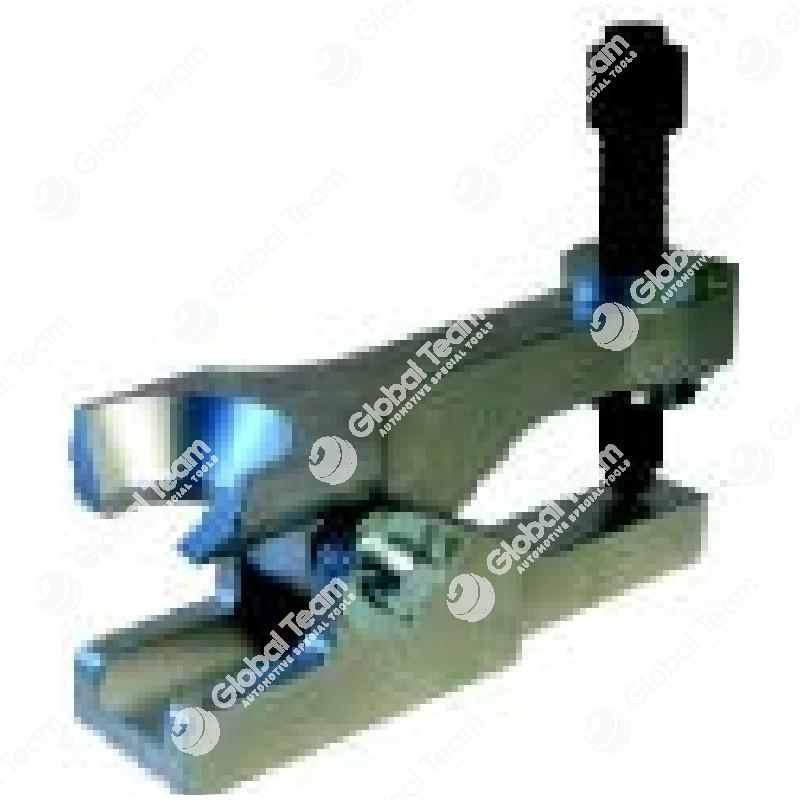 Estrattore a leva testine sterzo per veicoli commerciali - Apertura 30 mm