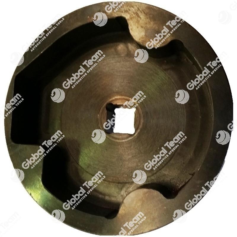 Chiave per ghiera bilancere balestre astra - ghiera fresata doppia