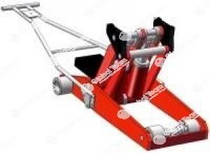 Sollevatore sotto assale da 8 ton. per sollevamento centrato veicoli