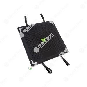 Cuscino da sollevamento Sava SLK 33 . I cuscini da sollevamento SLK possono essere utilizzati singolarmente oppure insieme. Vengono alimentati con una pressione fino a 8 bar. L'alimentazione d'aria può essere fornita dall'aria compressa del freno oppure t