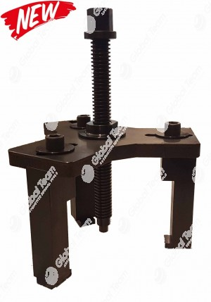 Estrattore a 3 zampe registrabili con perno vibro impact per estrazione ingranaggio 4° marcia più i 2 cuscinetti superiori cambi ZF - estrazione pisgnone albero secondario cambi (G) MERCEDES