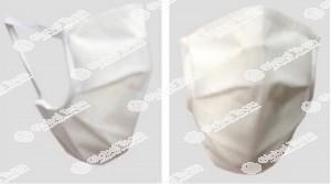 Mascherina seconda gamma , a 2 strati idrorepellente lavabili 20 volte con certificato