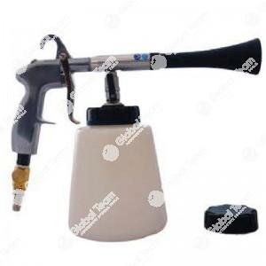 Pistola pneumatica ciclonica per detergenti con capacità serbatoio 1L - 6,2bar - consumo aria 150L/min