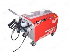 Idropulitrice a lavaggio tecnico  a bassa pressione per lavaggi in luoghi interni per veicoli industriali in maniera certificata