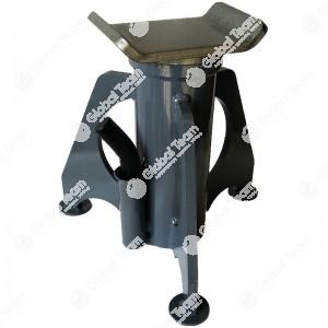 Cavalletto basso 300 mm - 550 mm aperto 10 ton