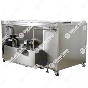 Vasca ad ultrasuoni - misure interne 1500x900x750 mm
