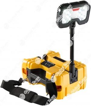 Lampada portatile ad alta durata ed intensità per lavori soccorso stradale ed all'esterna