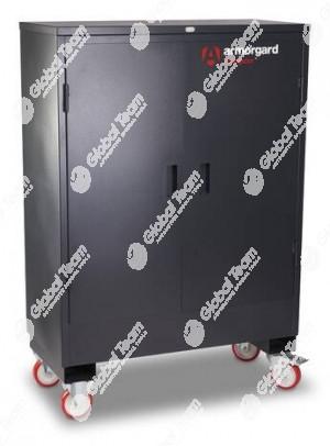 Armadio mobile robusto semi blindato per articoli delicati e costosi da tenere sotto custodia . Alta qualità