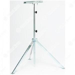 Supporto telescopico con sistema di aggancio rapido della lampada da usare con art. ET00301