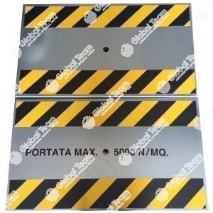 Copertura PEDONALE a pannelli singoli rimovibili - portata max 500 Kg/m2