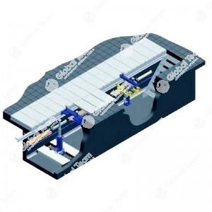 Caopertura CARRABILE BLITZ manuale a cassettoni retraibili - portata max 10000 Kg/m2